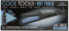 "New HOT TOOLS 1 1/4"" Ceramic Flat Iron Conditioning 110-220 Volts #HT7101"
