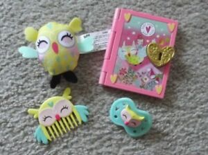 2017 Once Upon a Baby: Baby Alive Forest Luna Doll  Replacement ACCESSORIES LOT