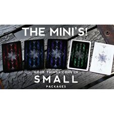 Ellusionist Set of 5 Artifice Mini Playing Cards Decks New