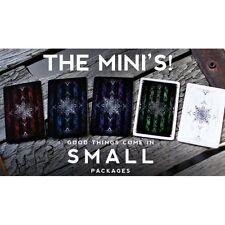 Ellusionist Set of 5 Artifice Mini Playing Cards Decks New