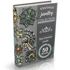 50 Rare Jewellery Books on DVD Vintage Jewelry Making Hallmarks Gold Diamonds