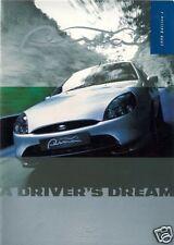Ford Puma 1998-99 UK Market Sales Brochure 1.4i 1.7i