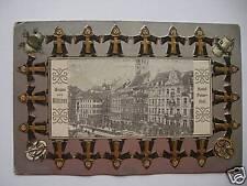 AK München 1916 geprägte Karte Hotel Peter-Hof