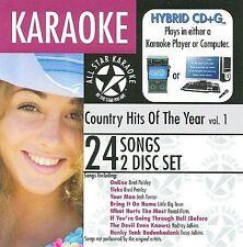 Karaoke Karaoke: Country Hits of the Year, Vol. CD