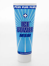 Ice Power Plus MSM 200ml Cold Pain Relief Gel