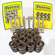 Ferrea Full Valves Springs Retainers Kit Honda H22A DOHC VTEC PRELUDE H22A4 80LB