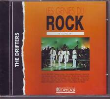 THE DRIFTERS in concert (CD)  (les genies du rock editions atlas)