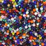 Czech Glass Seed Bead Color Mix One Ounce (1oz) pack Bead Size: 8/0 ( ocho )
