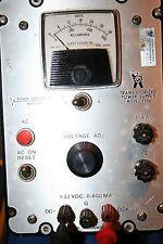 Power Designs Transistorized Power Supply Model 3206
