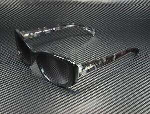 COACH HC8168 534811 Black Crystal Mosaic Lt Grey Grad 56 mm Women's Sunglasses
