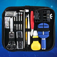 147Pcs Watch Repair Tool Kit Link Spring Bar Remover Watchmaker Tool Case Opener