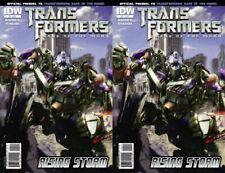Transformers: Dark of the Moon - Rising Storm #4A (2011) IDW Comics - 2 Comics