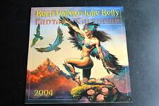 "Boris Vallejo & Julie Bell'S ""Fantasy Calendar"" 2004 Myth Magic Workman Vg+"