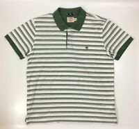 Brooks Brothers Red Fleece Men's T-Shirt, Size XL, Green and White Stripes