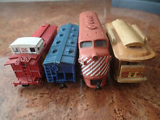 ** TRAIN MODEL LOCOMOTIVE ** CN RAIL 1412 SANTA FE ATSF BACHMANN VINTAGE CAR**