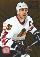 1996-97 Pinnacle Zenith Hockey Champion Salute #12 Chris Chelios Blackhawks
