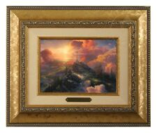 Thomas Kinkade The Cross - Brushwork (Gold Frame)
