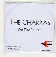 (FV341) The Chakras, We The People - 2011 DJ CD