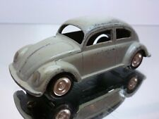 LION CAR VW VOLKSWAGEN BEETLE - OVAL WINDOW - GREY 1:42 - VERY GOOD CONDITION