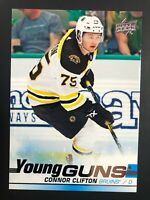 2019-20 UD Young Guns Rookie Connor Clifton