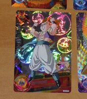 DRAGON BALL Z DBZ DBS HEROES CARD PRISM HOLO CARTE H3-CP4 CP MADE IN JAPAN **