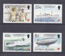 Kaiman-Inseln 1995 Mi-Nr. 738-741 ** -  Schiffe / U-Boot / Luftschiff / Militär