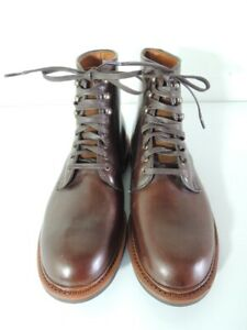 Allen Edmonds HIGGINS MILL BOOTS with Chromexcel Leather Size 9.5 EEE