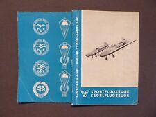 Luftfahrt, Sportflugzeuge, Segelflugzeuge, Kleine Typensammlung, Eyermann, 1959