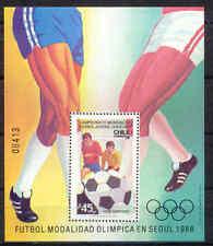 Olimpiada 1988, Olympic Games, fútbol-chile-bl.5 ** mnh