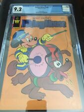 Whitman Mickey Mouse #208 Comic CGC Graded 9.2 (VERY VERY RARE)