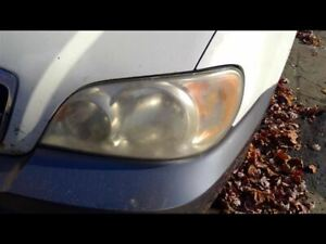 Driver Left Headlight Fits 02-05 SEDONA 131640