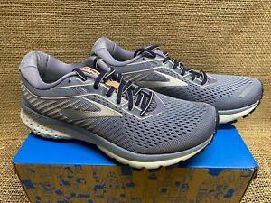 NIB Brooks 120305 Women's Ghost 12 Grey/Peach/Peacoat Athletic Shoe
