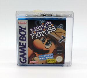 Mario´s Picross (Nintendo Gameboy / Game Boy) * NEW * NEU *