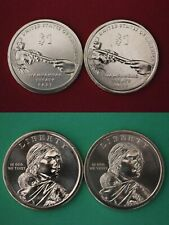 2007 D P Sacagawea Golden Dollars From BU Mint Sets Combined Shipping
