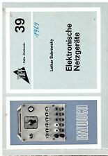 Elektronische Netzgeräte, Topp Buchreihe Elektronik Band 39
