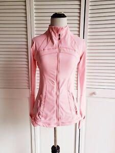 Lululemon Define Zip up Jacket Size 6 Coral