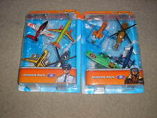 New Matchbox Set of Skybusters Missions Mission Packs Chopper Boeing Commuter