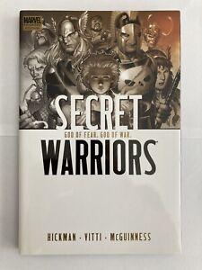Secret Warriors: Vol 2 God of Fear & War Marvel Comics Hard Cover Graphic Novel