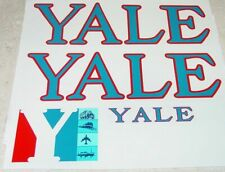Tru Scale YALE Pressed Steel Semi Sticker Set    TS-005