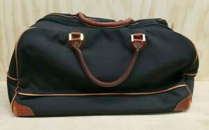 Occidental Leather Weekender Travel Tool Bag Nylon Black RARE!