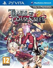 The Legend of Heroes: Trails of Cold Steel (PS Vita) W/ FREE ART BOOK - NEW