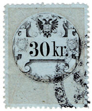 (I. B) AUSTRIA/UNGHERIA ricavi: STEMPELMARKE 30kr