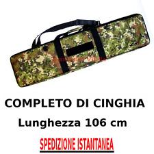 Borsa Fodero Custodia porta Fucile da assalto o carabina VEGETATO ITALIANO