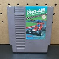 R.C. Pro-Am Nintendo Nes - Tested & Authentic - Cartridge Only !