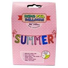 Royal County Products Name Foil Balloons - Summer - New