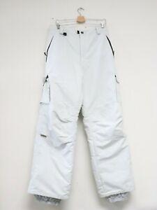 Turbine Snowboarding Winter Sports Pants Adult Extra Large XL White Men