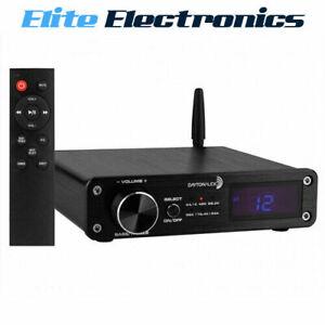 Dayton Audio DTA-PRO 100W Class-D Amplifier w/ Bluetooth & USB DAC