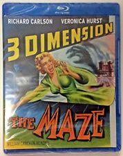 THE MAZE 1953 3D BLU RAY MOVIE NIP