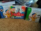 Caillou Lot of 3 PC Games Four Seasons of Fun/ Magic Playhouse/Ready for School