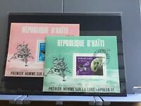 Haiti 1969 Apollo 11 cancelled   stamp  sheets R26404